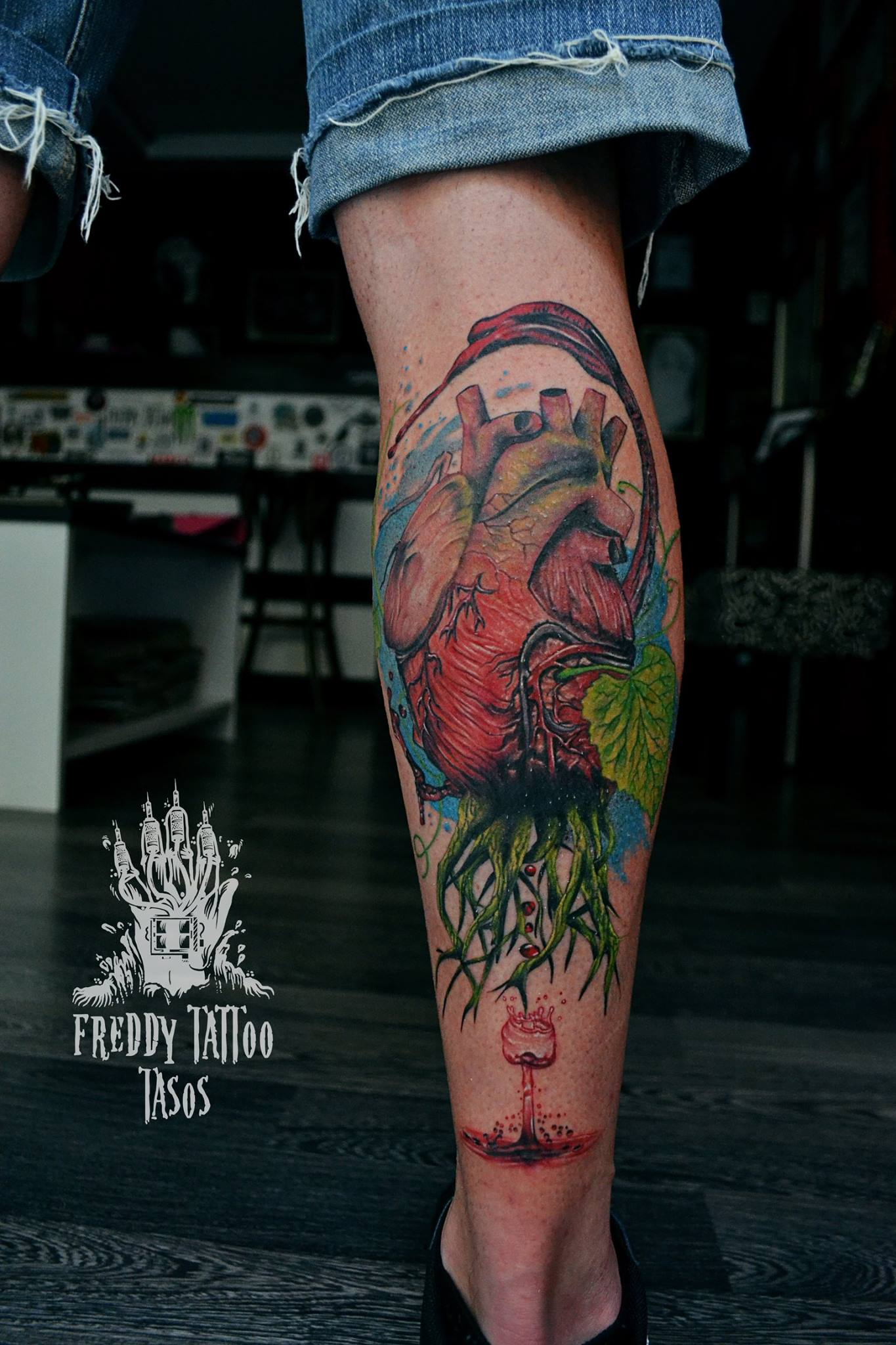 Tasos Freddy Tattoo Studio – Tattoo 2002