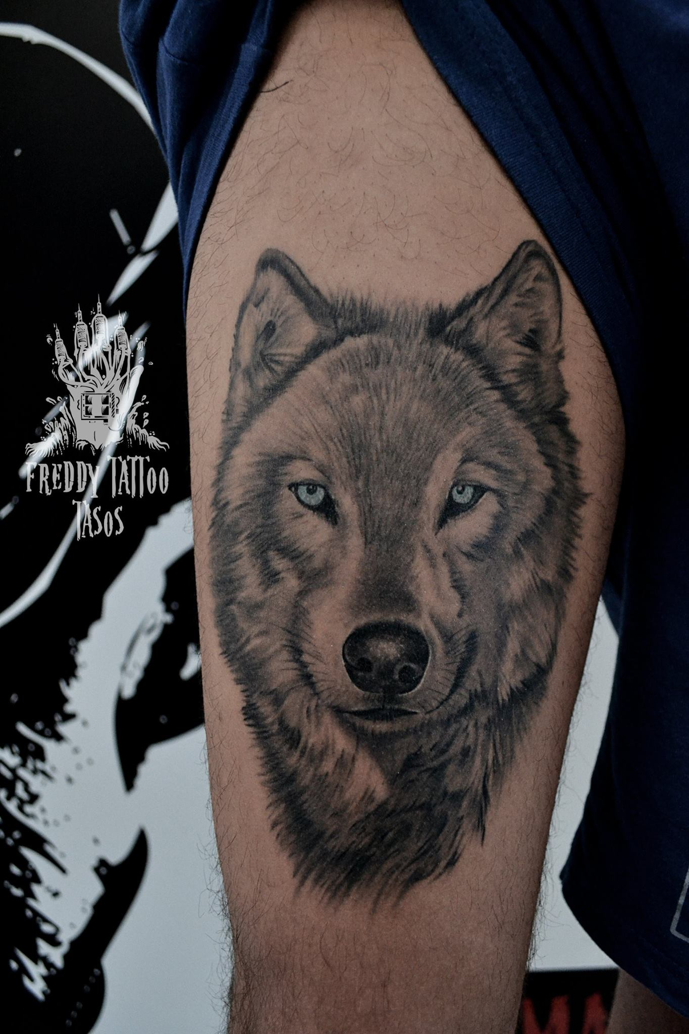 Tasos Freddy Tattoo Studio – Tattoo 2003